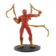 Ultimate Spider-Man - Mini figurine Iron Spider-Man 9 cm