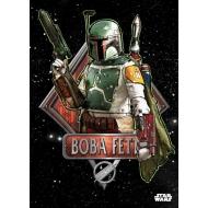 Star Wars - Poster en métal Boba Fett Emblem 32 x 45 cm