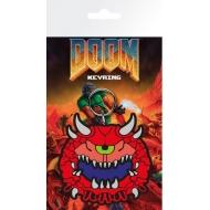 Doom - Porte-clés caoutchouc Cacodemon 7 cm