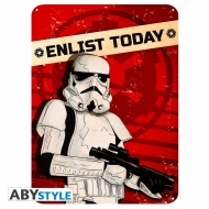 Star Wars - Plaque métal Enlist today (28x38)