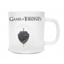 Game of Thrones - Mug en verre Stark avec Logo 3D Rotatif