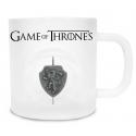 Game of Thrones - Mug en verre Lannister avec Logo 3D Rotatif