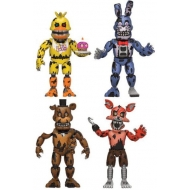Five Nights at Freddy's - Pack 4 figurines Nightmare 5 cm