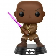 Star Wars - Figurine POP! Bobble Head Mace Windu 9 cm