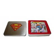 DC Comics - Porte-monnaie avec boite métal Flying Superman