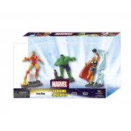 Marvel Comics - Pack 3 mini figurines 10 cm Set A