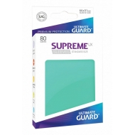 Ultimate Guard - 80 pochettes Supreme UX Sleeves taille standard Turquoise