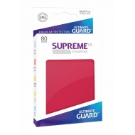 Ultimate Guard - 80 pochettes Supreme UX Sleeves taille standard Rouge