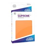 Ultimate Guard - 80 pochettes Supreme UX Sleeves taille standard Orange Mat