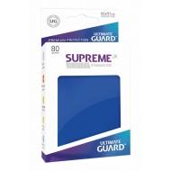 Ultimate Guard - 80 pochettes Supreme UX Sleeves taille standard Bleu