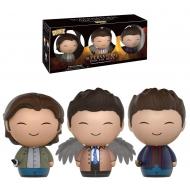 Supernatural - Pack 3 Figurines Dorbz Sam, Dean & Castiel 8 cm