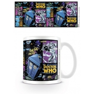 Doctor Who - Mug Comic Strip