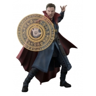 Marvel Comics - Doctor Strange figurine S.H. Figuarts Doctor Strange & Burning Flame Set 15 cm