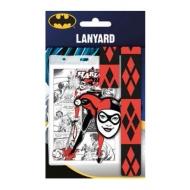 DC Comics - Dragonne avec porte-clés caoutchouc Harley Quinn