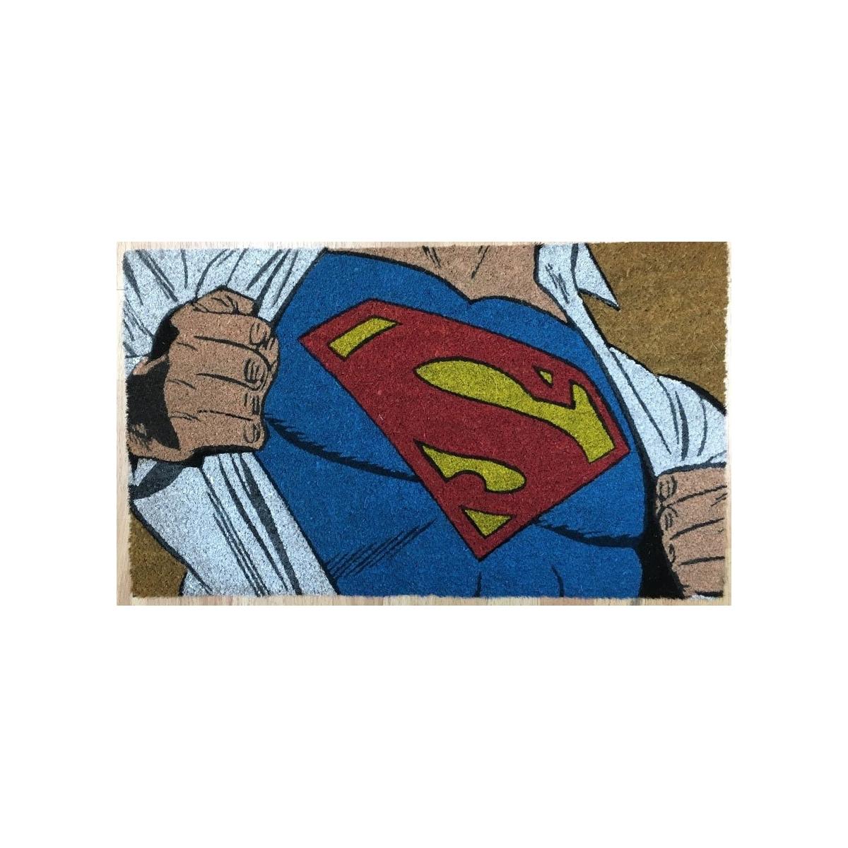 Dc Comics Paillasson Clark Kent 50 X 70 Cm Figurine