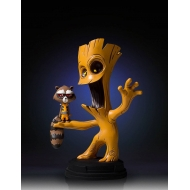 Marvel Comics - Mini statuette Groot & Rocket 16 cm