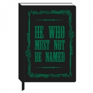 Harry Potter - Cahier A5 Voldemort