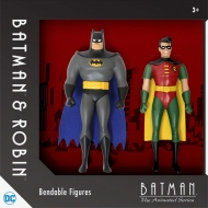 Batman The Animated Series - Pack 2 figurines flexibles 14 cm