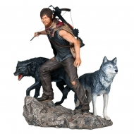The Walking Dead - Statuette 1/8 Daryl & the Wolves 26 cm
