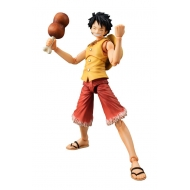 One Piece - Figurine Variable Action Heroes Monkey D Luffy Past Blue (Yellow Ver.) 17 cm