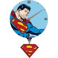 DC Comics - Pendule 3D  Superman Motion Swinging Logo