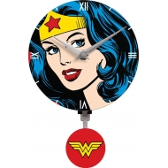 DC Comics - Pendule 3D Wonder Woman Motion Swinging Logo