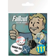 Fallout - Pack 6 badges Mix 1