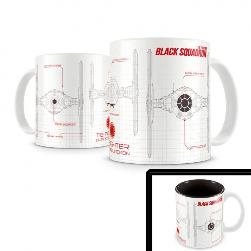 Star Wars Episode VII - Mug Black Squadron
