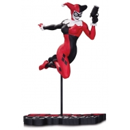 Batman - Statuette Red, White & Black Harley Quinn by Terry Dodson 18 cm