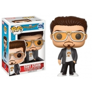 Spider-Man Homecoming - Figurine POP! Marvel Tony Stark 9 cm