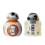 Star Wars Episode VII - Salière et poivrière BB-8 & R2-D2