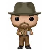 Stranger Things - Figurine POP! Figurine Hopper 9 cm