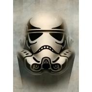 Star Wars - Poster en métal Masked Troopers Animated 32 x 45 cm