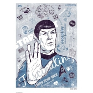 Star Trek - Lithographie Spocks Brain 42 x 30 cm