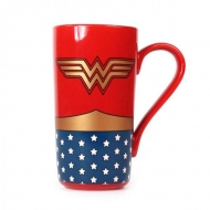 Wonder Woman - Mug Latte-Macchiato Logo Wonder Woman