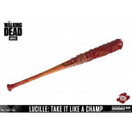 The Walking Dead - Réplique batte de baseball de Negan Lucille Take It Like A Champ Ver. 81 cm