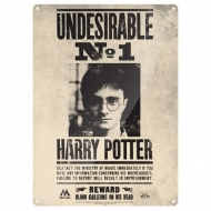 Harry Potter - Panneau métal Undesirable No. 1