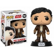 Star Wars Episode VIII - Figurine POP! Bobble Head Poe Dameron 9 cm