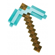 Minecraft - Réplique plastique Diamond Pickaxe 40 cm