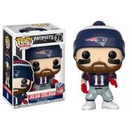 NFL - Figurine POP! Julian Edelman (New England Patriots) 9 cm