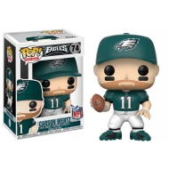 NFL - Figurine POP! Carson Wentz (Philadelphia Eagles) 9 cm