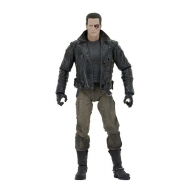 Terminator - Figurine Ultimate Police Station Assault T-800 (Motorcycle Jacket) 18 cm
