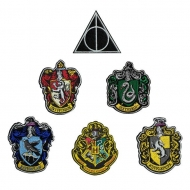 Harry Potter - Pack 6 Ecussons House Crests