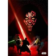 Star Wars - Poster en métal Darth Maul Duel