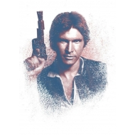 Star Wars - Poster métal Successors Collection Han Solo