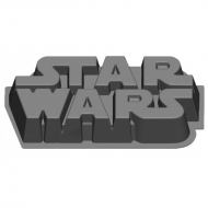 Star Wars - Moule à gateau silicone Logo Star Wars
