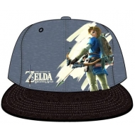 The Legend of Zelda Breath of the Wild - Casquette Snap Back Link