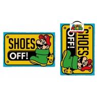 Nintendo - Paillasson Super Mario Shoes Off 40 x 60 cm