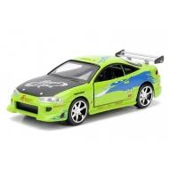 Fast & Furious - Réplique métal 1/32 Brian's Mitsubishi Eclipse 1995