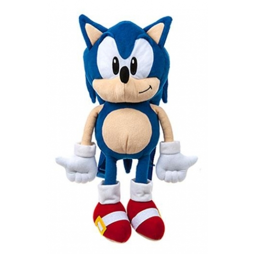 Sonic The Hedgehog Sac A Dos Peluche Sonic 45 Cm